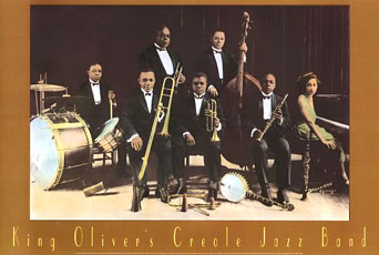 King Oliver's Creole Jazz Band Poster