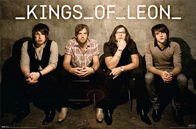 Kings of Leon poster - click Add to Cart to Order