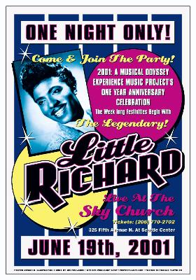 Little-Richard-Reproduction-Concert-Poster