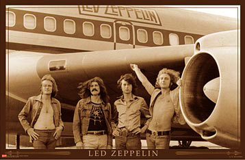 Led Zeppelin on Tour Poster