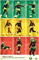Bob Marley Football is a Part of I Poster Click here to zoom in.