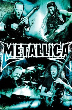 Metallica Live poster - click Add to Cart to Order
