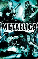 Metallica Live poster - click to zoom in