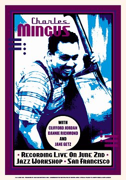 Charles-Mingus-Reproduction-Concert-Poster