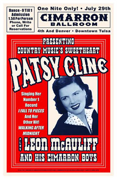 Patsy-Cline-1961-Reproduction-Concert-Poster