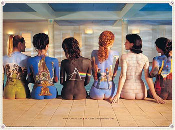 Pink Floyd Back Catalogue Poster