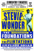 Stevie Wonder 1969 Reproduction Concert Poster