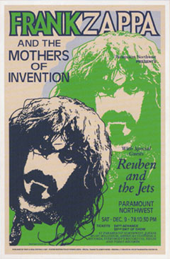 Frank-Zappa-1972-Reproduction-Concert-Poster