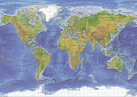 World Terrain Map Click Add to Cart to Order