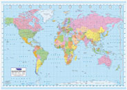 World Political Map Click Add to Cart to Order