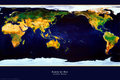 Earth by Day Poster