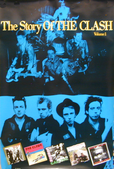 The Clash - Story of the Clash Poster