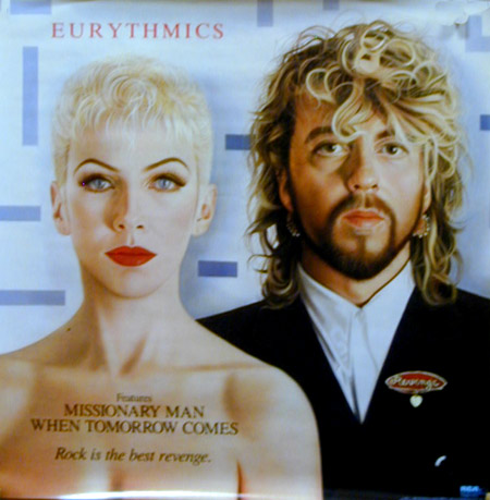 Eurythmics Poster 1986