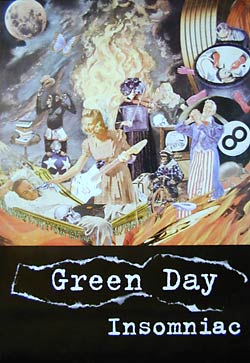 Green Day Insomniac Poster
