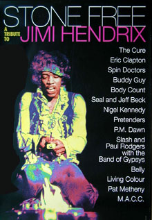 Stone Free a Tribute to Jimi Hendrix Poster