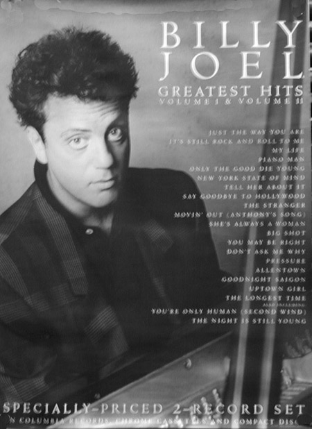 Billy Joel 1985 Poster