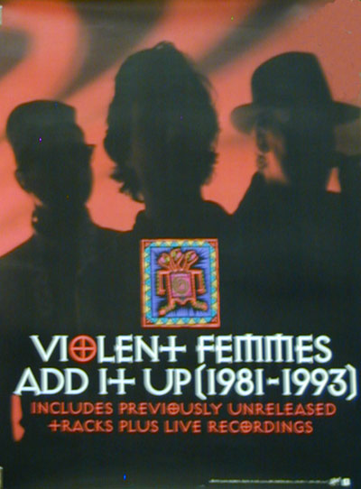 Violent Femmes Add It Up Poster