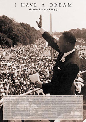 Martin Luther King I Have A Dream Poster