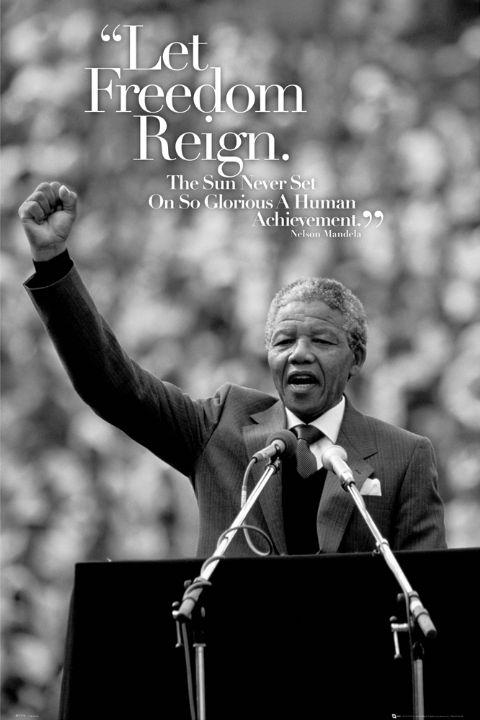 Nelson-Mandela-No-Easy-Walk-to-Freedom-Poster
