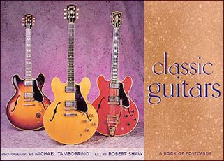 Classic Guitars Postcard Book Click Add to Cart to Order