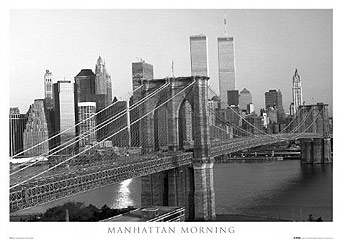 Manhattan-Morning-New-York-Poster