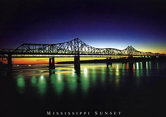 Mississippi-Sunset-Poster