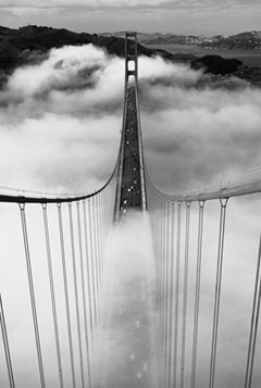 Golden Gate Bridge Misty Morning Click Add to Cart to Order