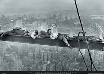 Asleep-on-a-Girder-Poster