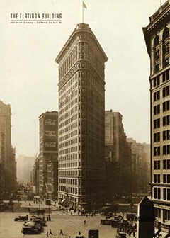 Flat-Iron-Building-New-York-Poster