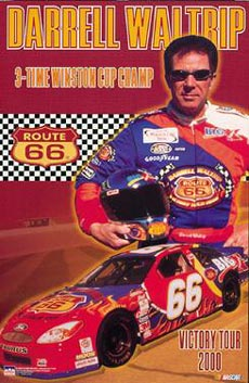 Darrel Waltrip Poster