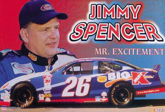 Jimmy Spencer Poster