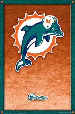 Miami Dolphins Poster
