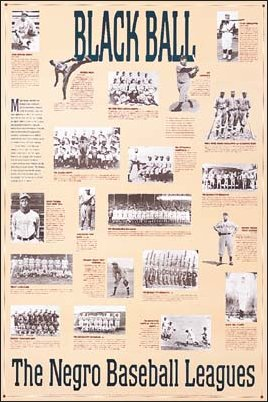 The Negro Baseball Leagues Poster