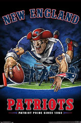 New England Patriots Running Back Poster