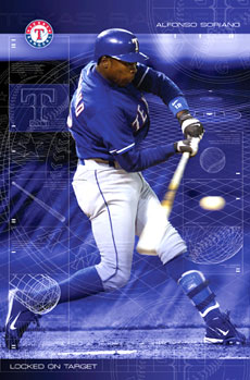 Alfonso Soriano Poster