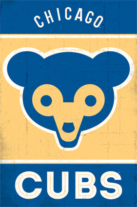 Chicago Cubs Logo Poster