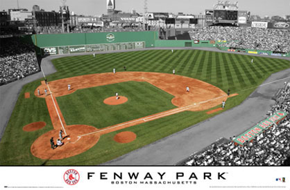 Fenway Park Poster Boston Redsox