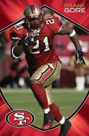 Frank Gore Poster Click to zoom in