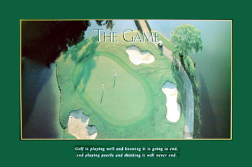 Golf - The Game Poster