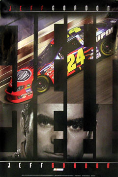 Jeff Gordon Poster