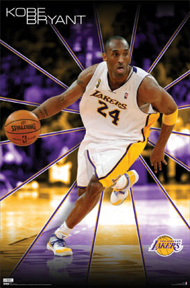 Kobe Bryant Lakers Poster