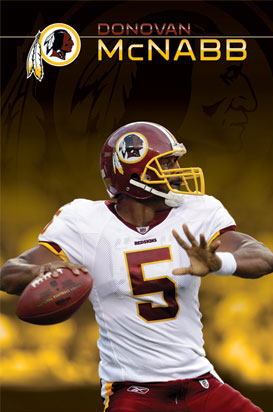 Donovan McNabb Washington Redskins Poster