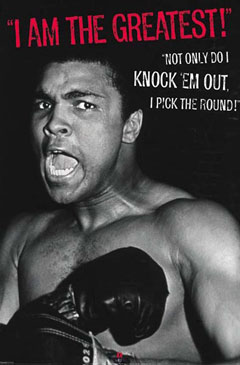 Muhammad Ali I Am The Greatest Poster