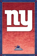 NY Giants Team Logo Poster