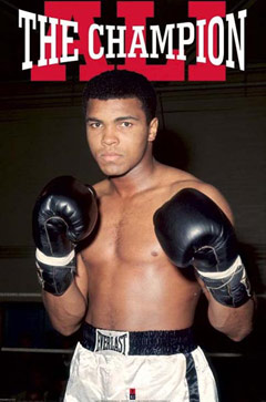 Muhammad Ali The Champion Poster
