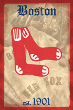 Boston Redsox Poster