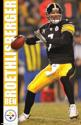 Roethlisberger-Action-Poster