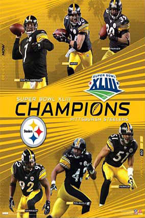 Superbowl XL111 Champions Poster