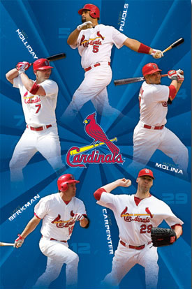 Saint Louis Cardinals Poster