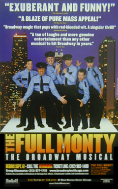 The Full Monty Theatrical Window Card Click Add to Cart to Order